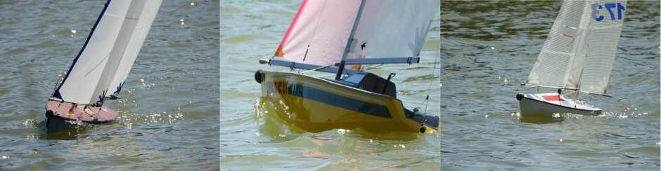 Rc Laser Sailing